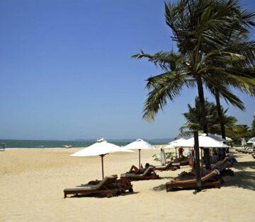 arossim beach Goa Best Beach